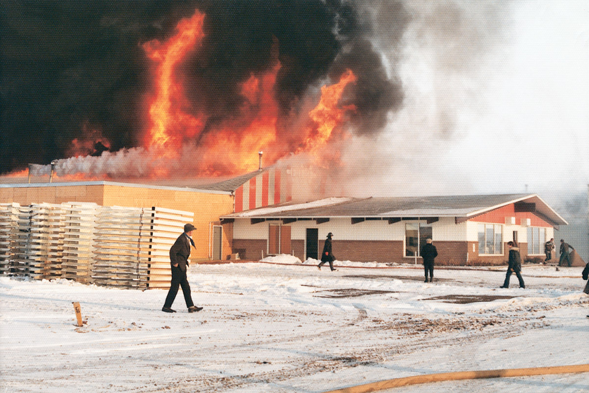 Triple E's factory fire